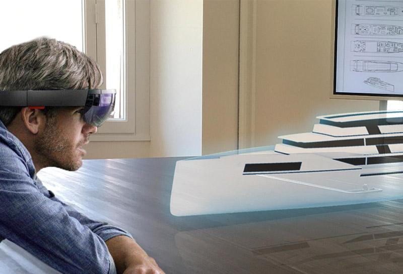 VR room in Lecce dedicated to marine and yacht applications